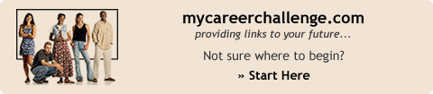 mycareerchallenge.com - providing links to your future…